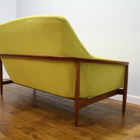 Amazing Swedish 60s Vintage Teak Sofa Pure Imagination