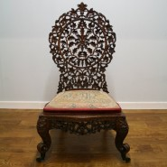 anglo indian antique chair