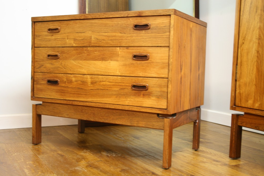 1960s british 4 piece rosewood bedroom set pure imagination for 1960 bedroom furniture for sale