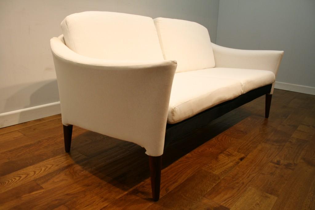 Hans Olsen Style 60s Danish Rosewood Sofa Pure Imagination