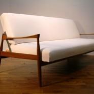 teak vintage sofa bed