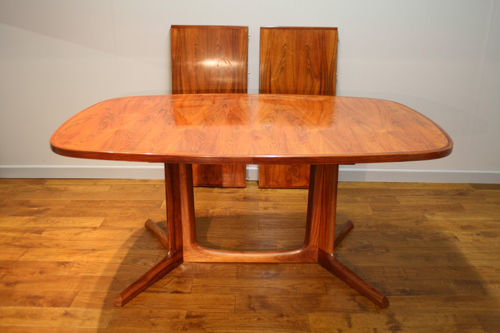 archive furniture gudme danish rosewood dining table c 1970