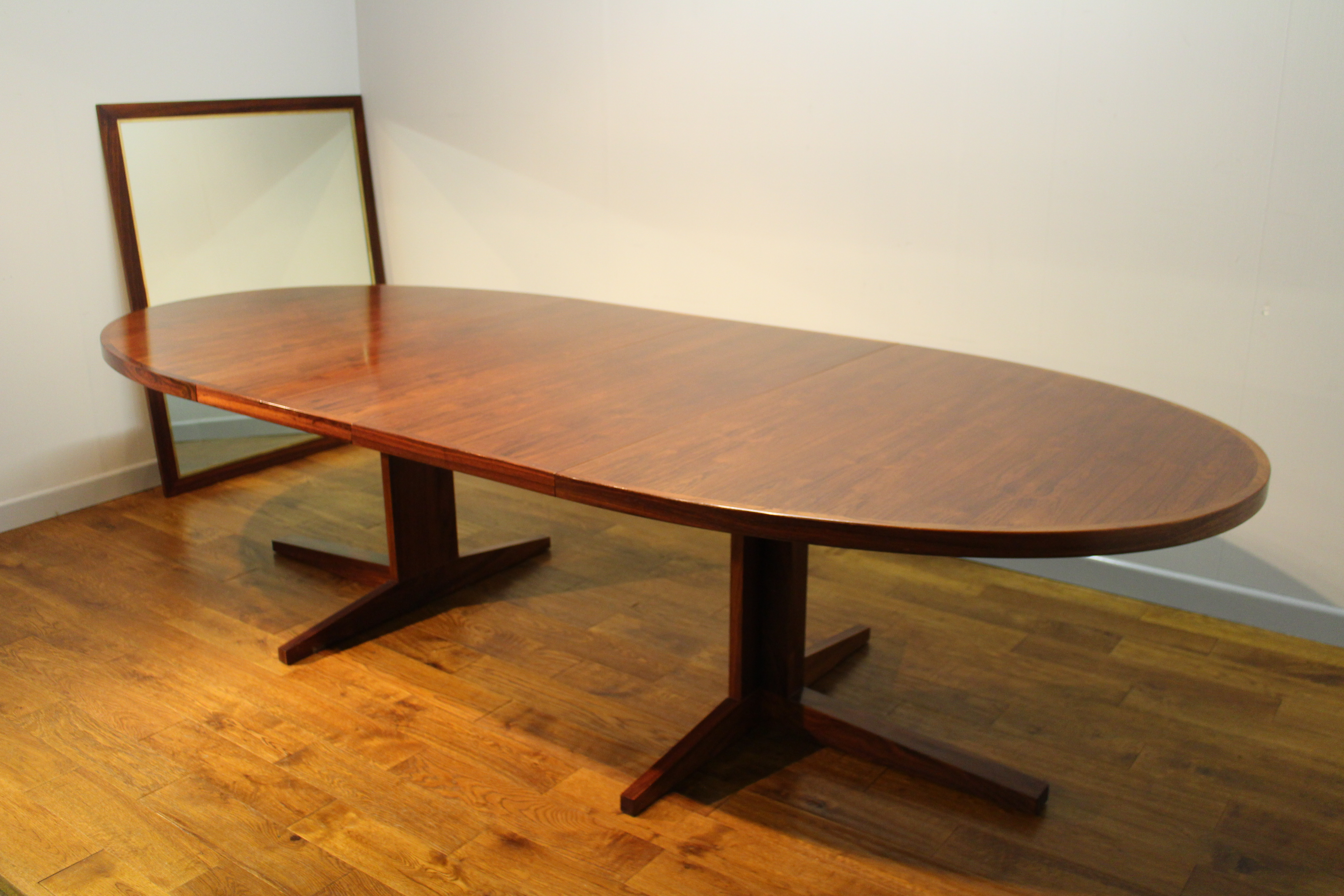 12 seat danish rosewood table john mortensen for heltborg for 12 seater oval dining table
