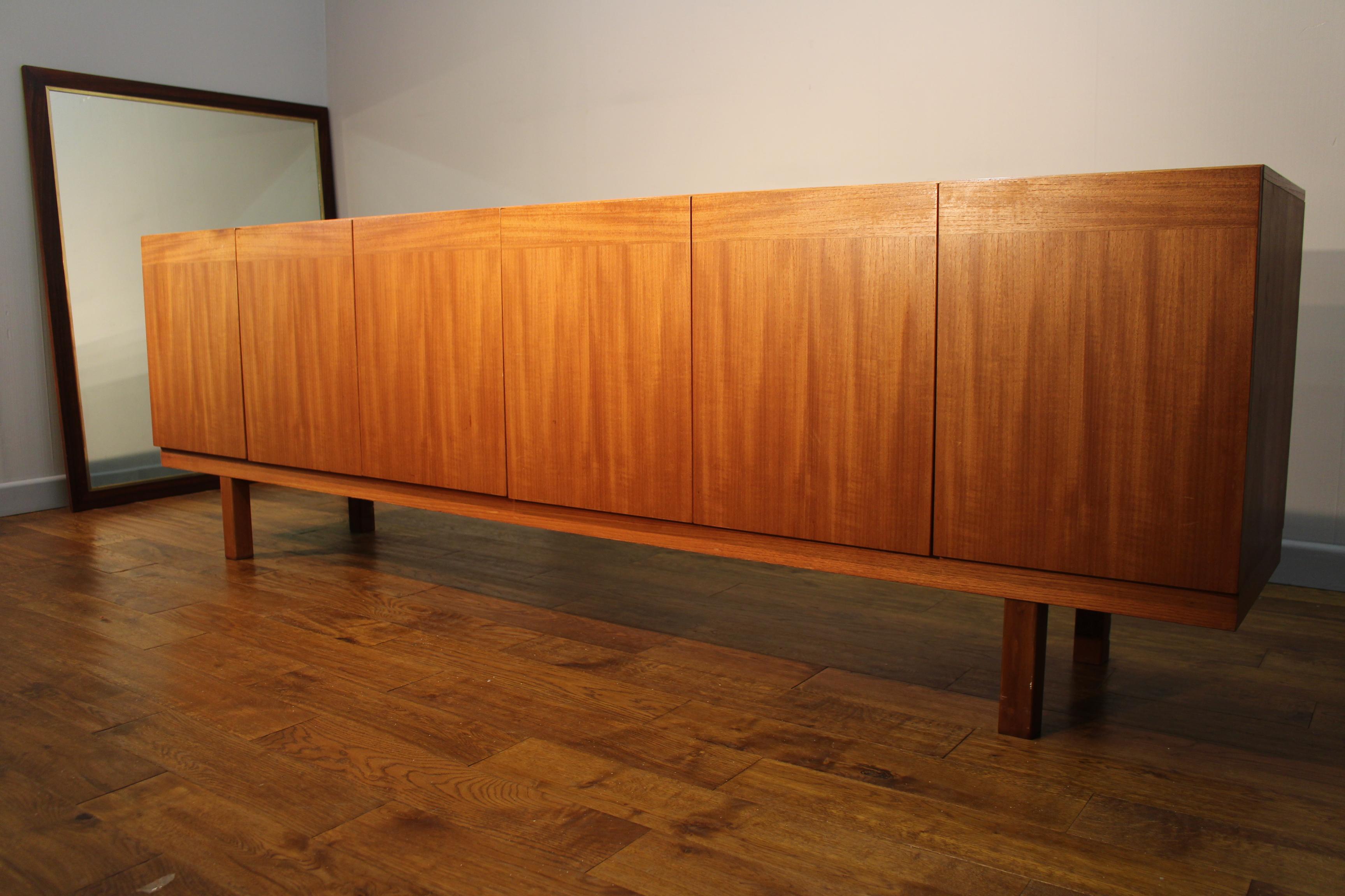 ib kofod larsen design teak sideboard by seffle pure imagination. Black Bedroom Furniture Sets. Home Design Ideas