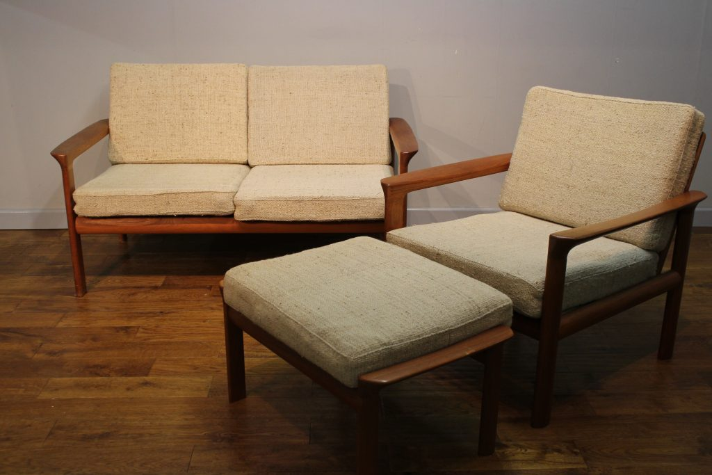 home our collections 1960s danish teak sofas chairs by komfort
