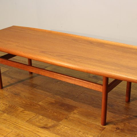 1960s vintage Dalescraft teak coffee table manner of ...